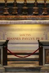 Tomb of John Paul II - St Sebastain Altar